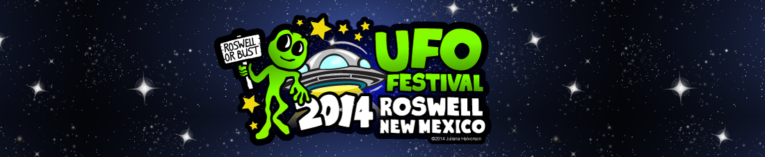 James Clarkson will be speaking at this year's UFO Festival 2014 in Roswell New Mexico